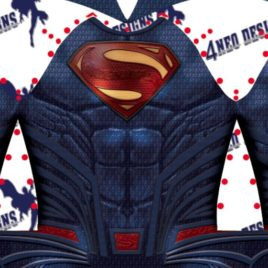 Superman DC Rebirth v4 JL Movie style