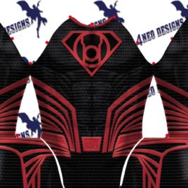 Superman Red Lantern Justice League v1